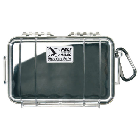 1040 Micro Case black clear